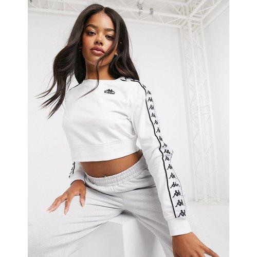 Kappa -Sweat-shirt court - Blanc - Kappa - Modalova