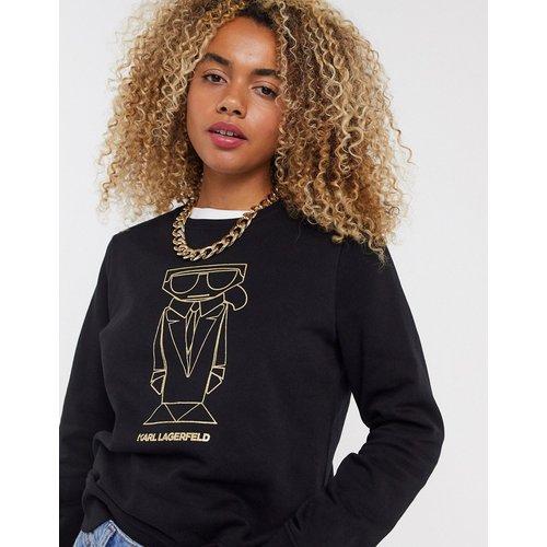 Karl - Sweat-shirt à motif graphique - Karl Lagerfeld - Modalova