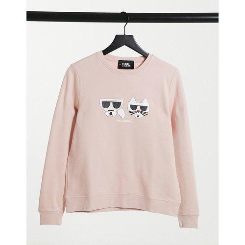 Kocktail Karl - Sweat-shirt à logo Choupette - Karl Lagerfeld - Modalova
