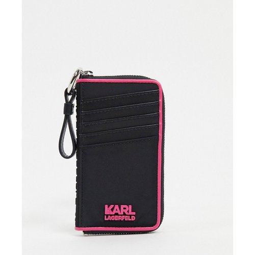 Porte-cartes à logo - Karl Lagerfeld - Modalova