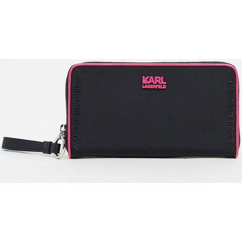 Portefeuille avec logo - Karl Lagerfeld - Modalova