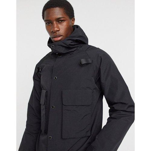 Veste courte à capuche - Karl Lagerfeld - Modalova