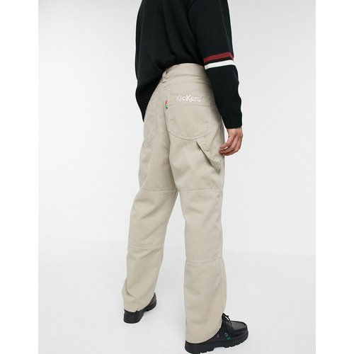 Drill - Pantalon en coutil de coton - Kickers - Modalova