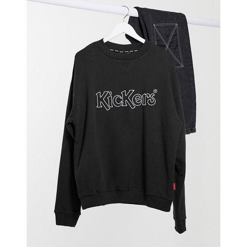 Sweat-shirt ras de cou classique à logo - Kickers - Modalova
