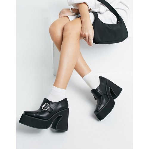 Mocassins chunky en imitation cuir à talon - Koi Footwear - Modalova
