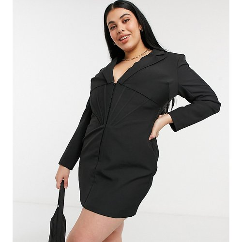 Robe blazer avec corset - Lavish Alice Plus - Modalova