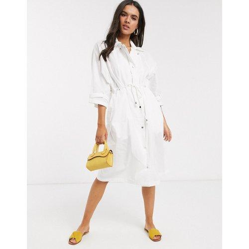 Robe chemise mi-longue - Liquorish - Modalova