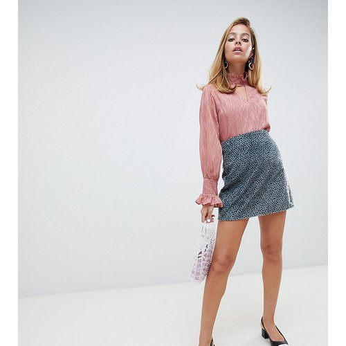 Mini-jupe à imprimé pois style dalmatien - Lost Ink Petite - Modalova