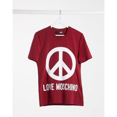 T-shirt à logo imprimé - Love Moschino - Modalova