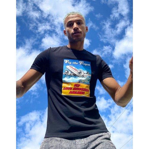 T-shirt imprimé - Love Moschino - Modalova