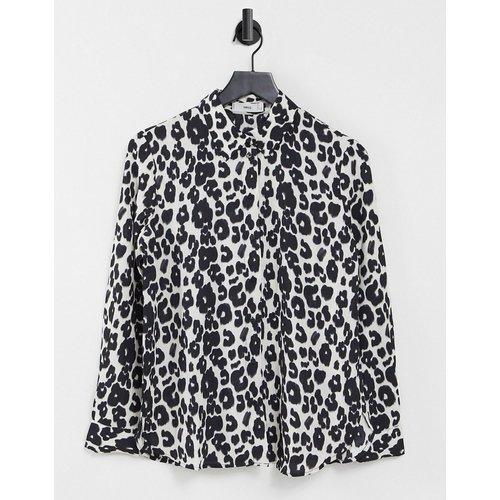 Chemise à imprimé animal - et blanc - Mango - Modalova