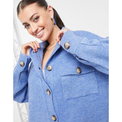 Gilet chemise en maille - Mango - Modalova