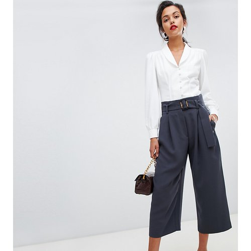 Pantalon court et large avec ceinture en résine - Mango - Modalova