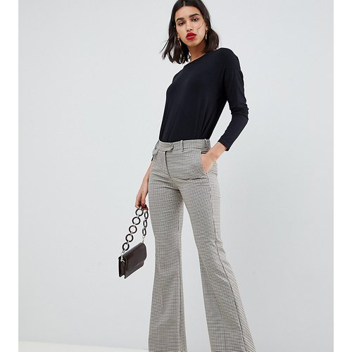 Premium - Pantalon évasé à carreaux - Mango - Modalova