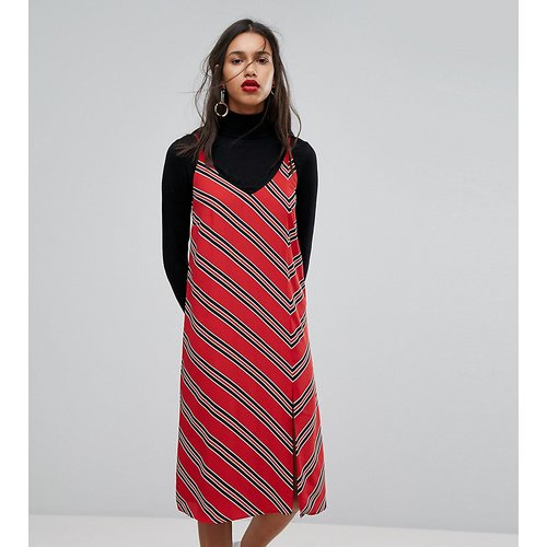 Robe caraco à rayures - Mango - Modalova