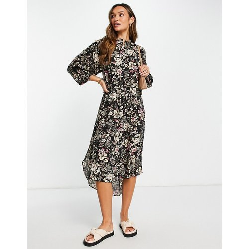 Robe chemise oversize à fleurs - Mango - Modalova