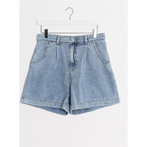 Short en jean ample - clair - Mango - Modalova