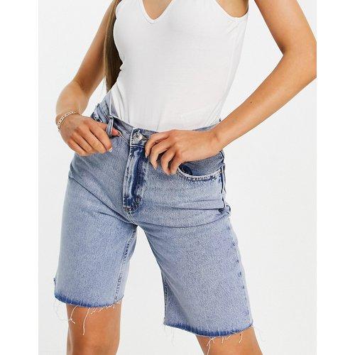 Short en jean long coupe boyfriend - Mango - Modalova