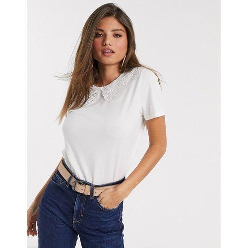 - T-shirt avec détail col - Mango - Modalova