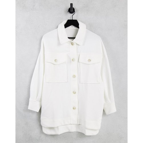 Veste chemise boutonnée devant - Mango - Modalova
