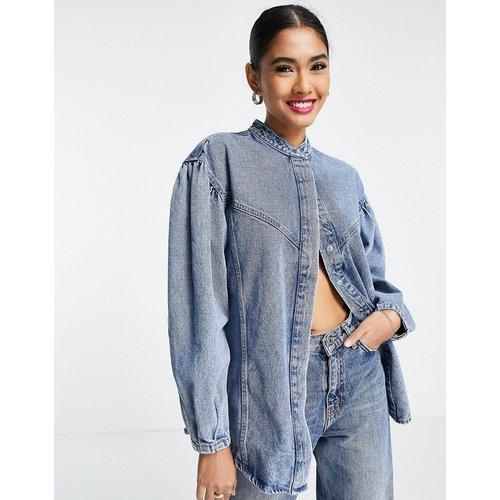 Veste-chemise en jean - Mango - Modalova