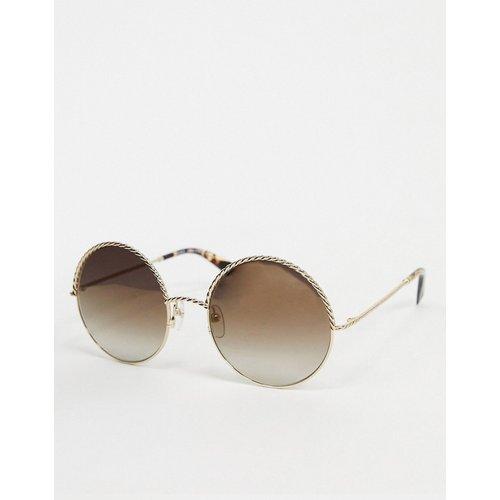 S - Lunettes de soleil à verres ronds - Marc Jacobs - Modalova