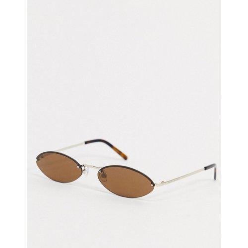 Lunettes de soleil yeux de chat fines - Marc Jacobs - Modalova