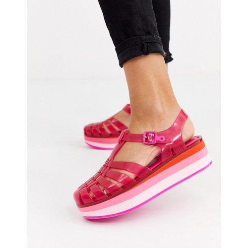 Sandales en plastique souple à semelle plateforme - Melissa - Modalova