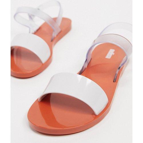 Sandales plates à brides transparentes - Melissa - Modalova