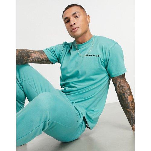 Essentials - T-shirt à logo - délavé - Mennace - Modalova