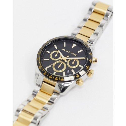 Layton - MK6835 - Montre avec bracelet en métaux variés - Michael Kors - Modalova