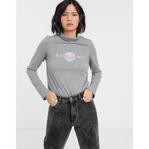 MiH Jeans - Heaven - Polo-Gris - MiH Jeans - Modalova