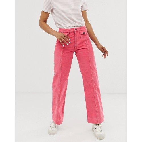 MiH Jeans - Jean droit - Rose - MiH Jeans - Modalova