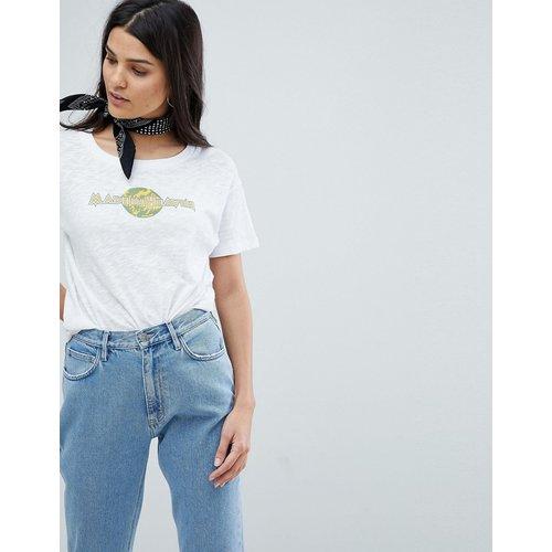 Mih Jeans - T-shirt à logo-Blanc - MiH Jeans - Modalova
