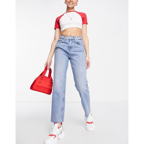 Jean slim taille haute - délavé moyen - Miss Selfridge - Modalova