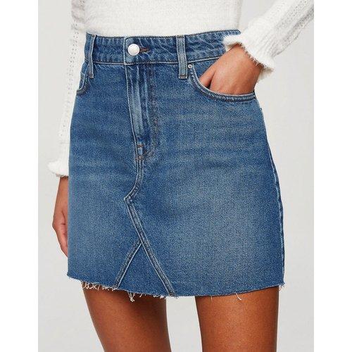 Mini-jupe en jean - Délavé moyen - Miss Selfridge - Modalova