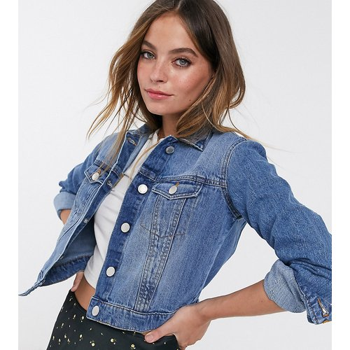 Veste en jean - Miss Selfridge Petite - Modalova