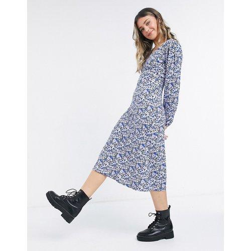 Robe mi-longue à fleurs - Violet - Miss Selfridge - Modalova