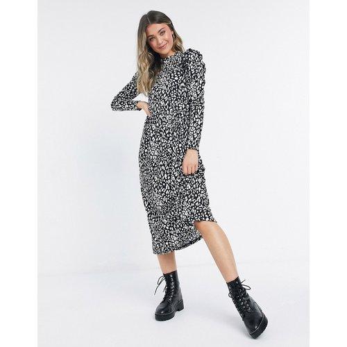 Robe mi-longue à imprimé animal - Miss Selfridge - Modalova