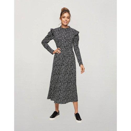 Robe mi-longue à imprimé - Miss Selfridge - Modalova