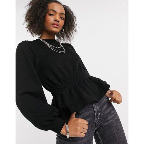 Sweat-shirt à taille froncée - Miss Selfridge - Modalova