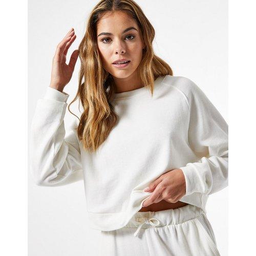Sweat-shirt d'ensemble - Écru - Miss Selfridge - Modalova