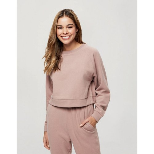 Sweat-shirt ras de cou - Vison - Miss Selfridge - Modalova