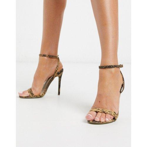 Chaussures minimalistes à talon - Serpent - Missguided - Modalova