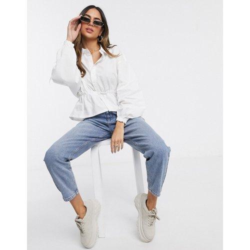 Chemise en popeline à taille froncée - Missguided - Modalova