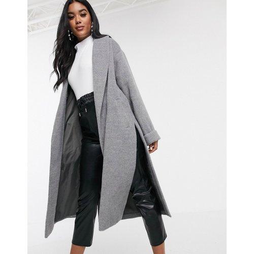 Manteau court avec col châle - Missguided - Modalova