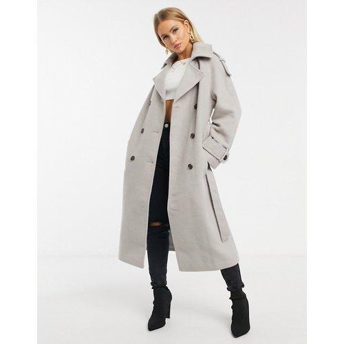 Manteau oversize avec ceinture - Missguided - Modalova