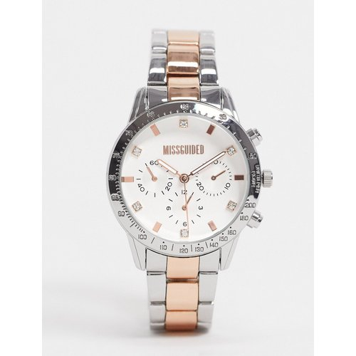 - Montre bicolore - Missguided - Modalova