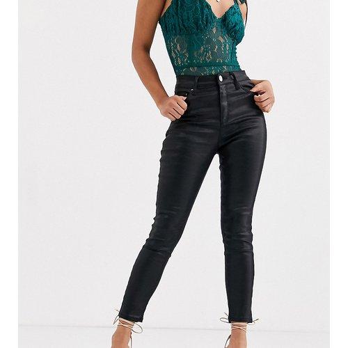 Jean skinny enduit - Missguided Petite - Modalova