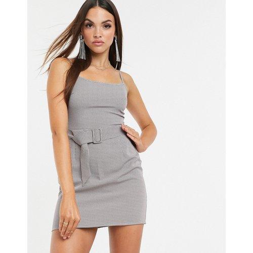Robe caraco à ceinture - Carreaux - Missguided - Modalova